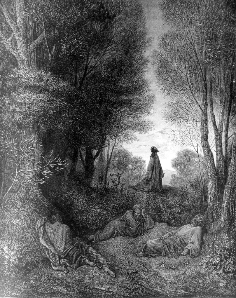 Jesus-Praying-in-the-Garden Dore
