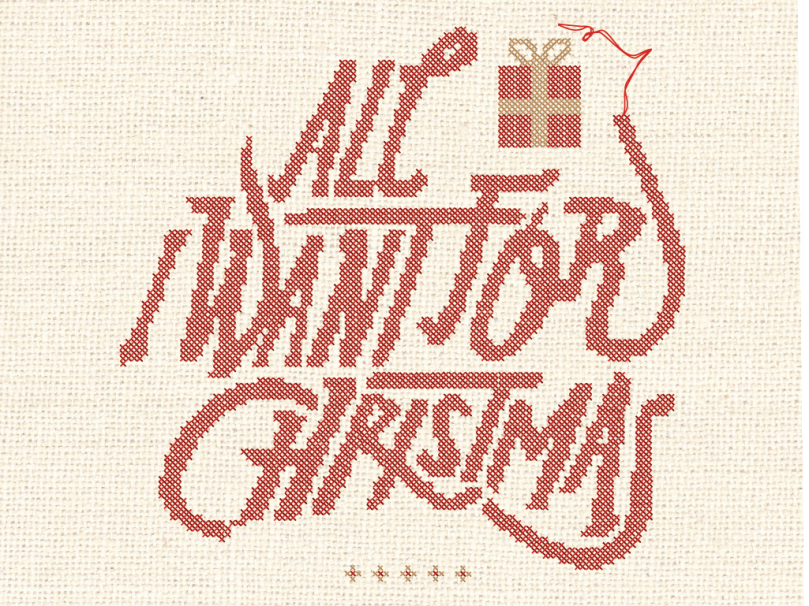 All I Want for Christmas Series Gfx_4x3 Title