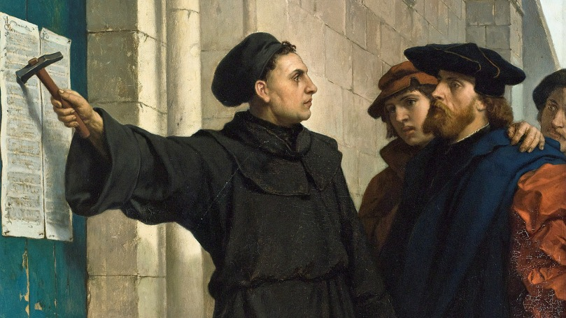 image 1 - Luther and 95 Theses