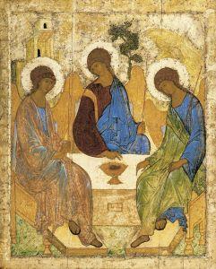 image 3 - Rublev Trinity icon