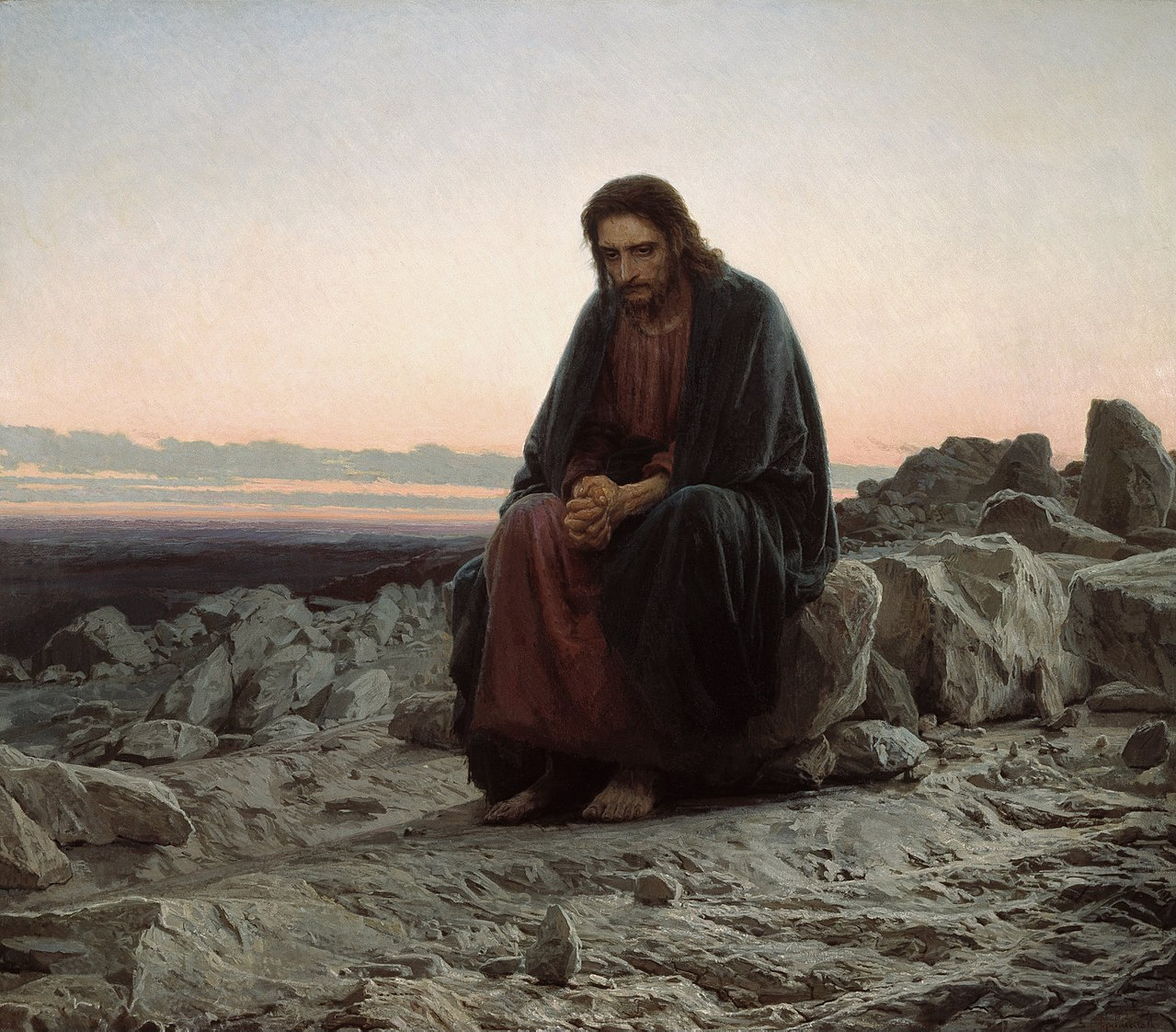 Christ in the Wilderness - Ivan Kramskoi.jpg