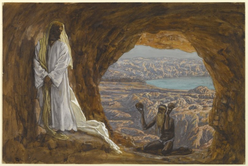 Jesus Tempted in the Wilderness, James Tissot, Brooklyn Museum.jpg