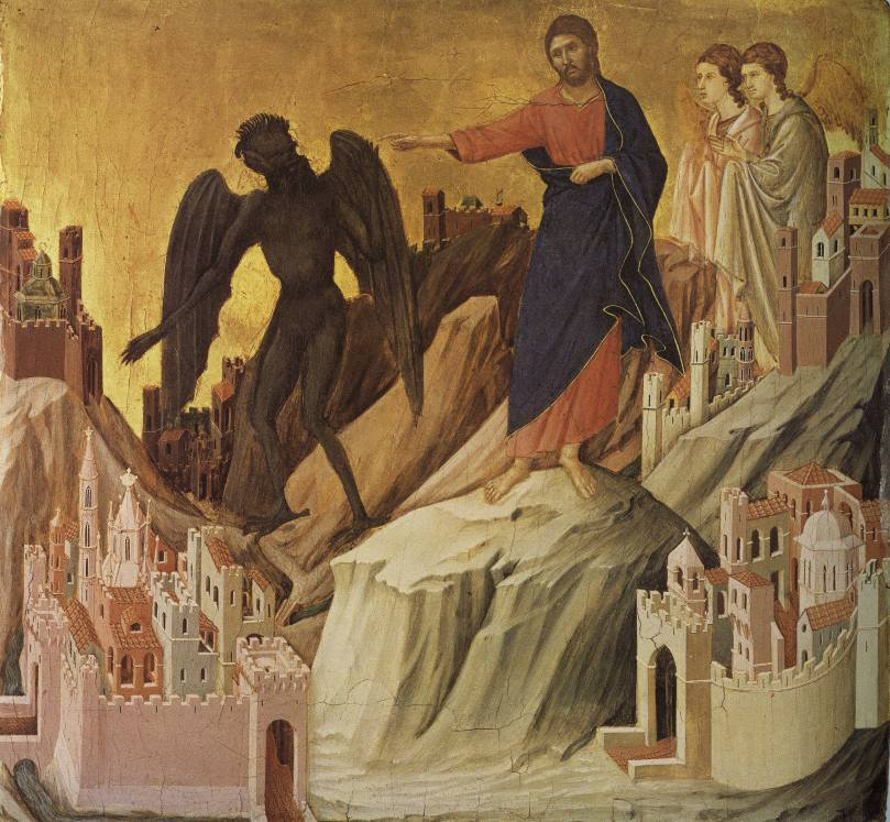 The Temptation of Christ on the Mountain (Duccio di Buoninsegna).jpg