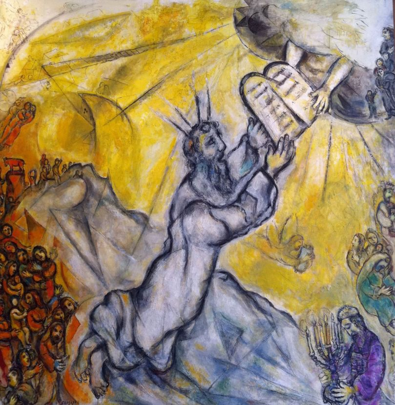 Chagall - Moses Receving the Ten Commandments.jpg