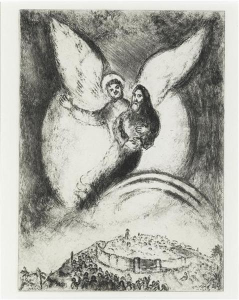 Marc Chagall - Jerusalem has been freed.jpg
