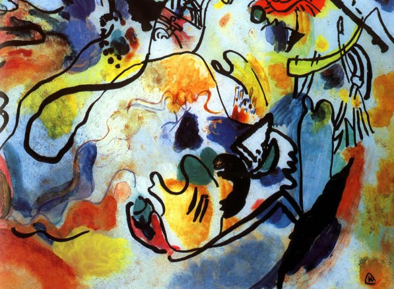 The Last Judgment - Wassily Kandinsky