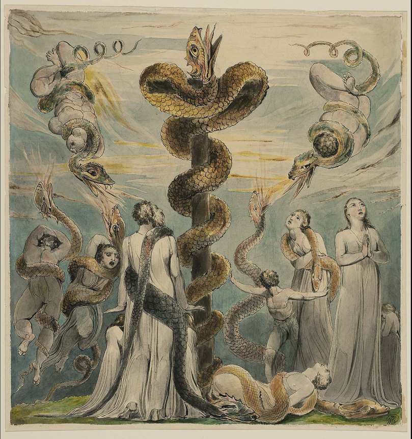 Blake - Moses and Brazen Serpent.jpg