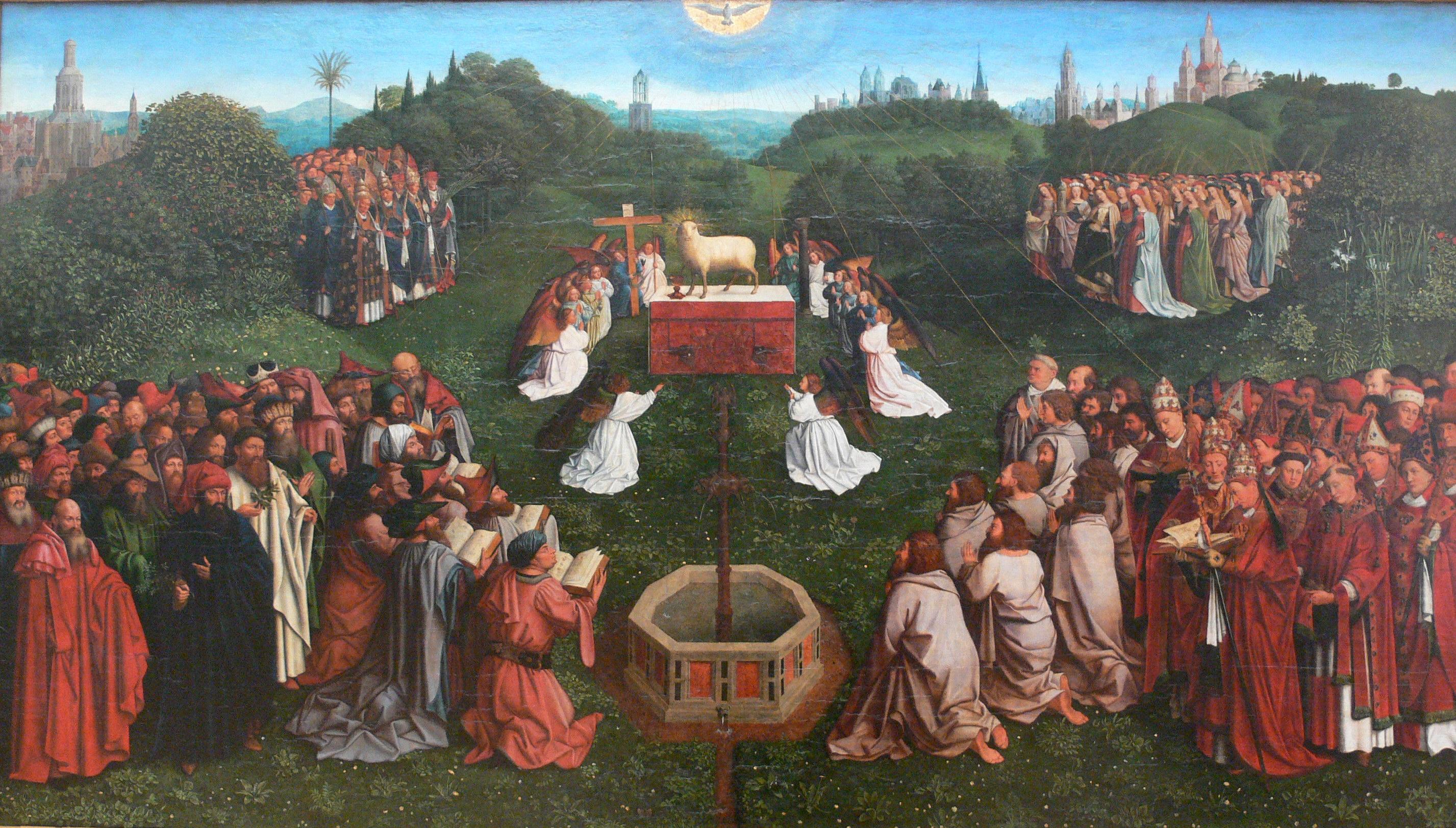 Jan van Eyck, Adoration of the Lamb.jpg