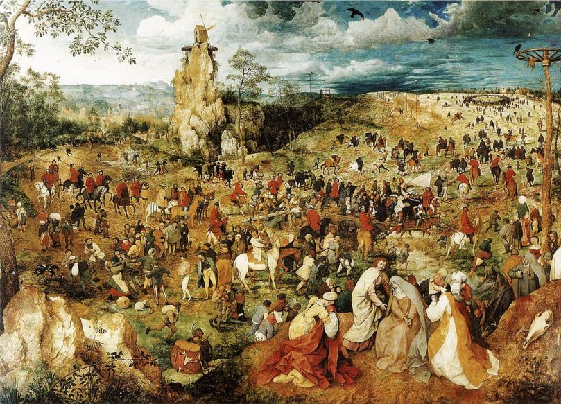 Pieter bruegel - The Procession to Calvary