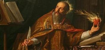 St Augustine burning heart