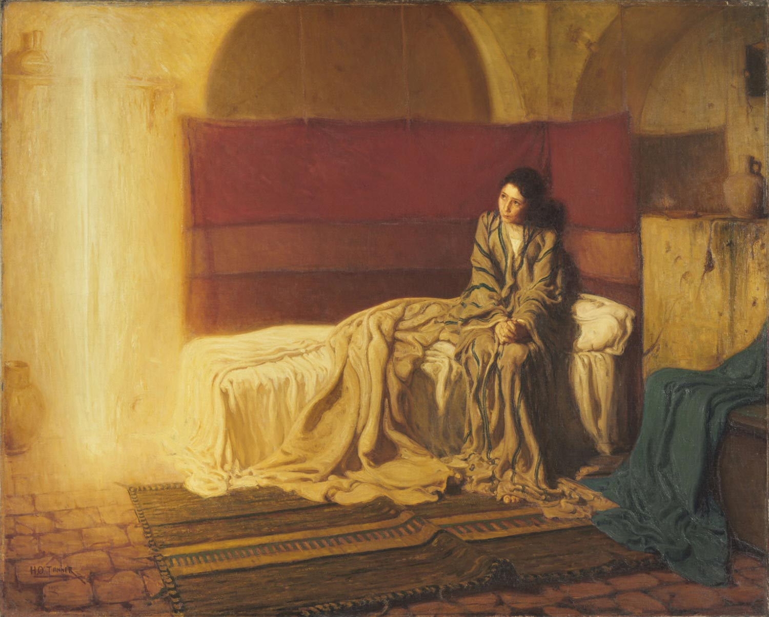 Henry Osawa Tanner - The Annunciation