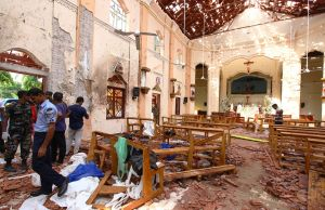 sri lanka church bombings