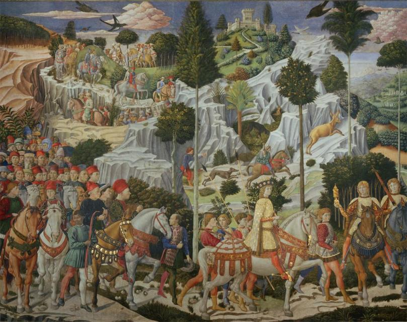 Benozzo Gozzoli – The Procession of the Magi.jpg