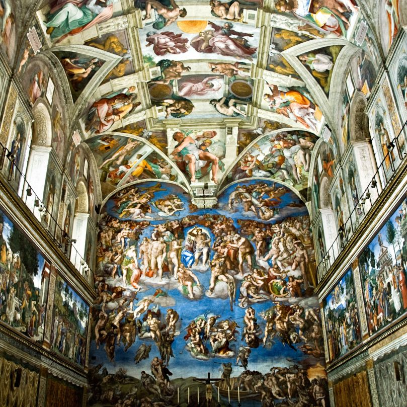Ceiling of the Sistine Chapel 3