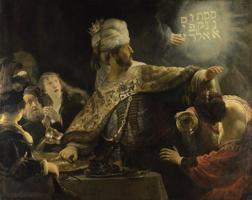 image 7 - Rembrandt Belsazar