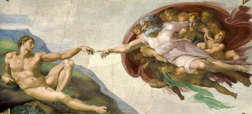 Michelangelo - Creation of Adam.jpg