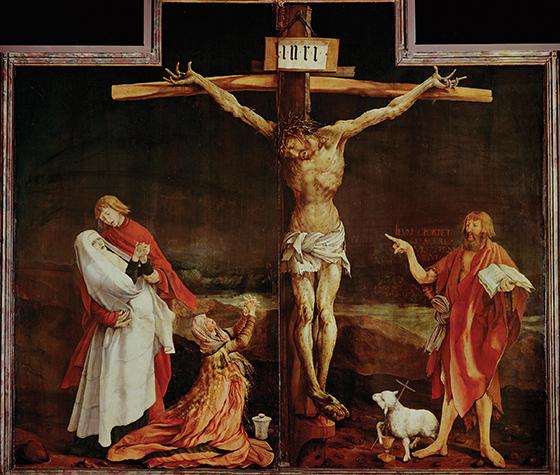 Crucifixion, Matthias Grunewald.jpg