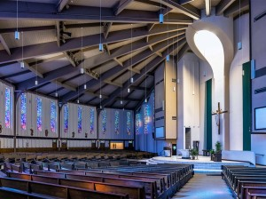 Interior St Margaret Mary Catholic Church