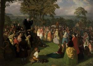 Walley, Thomas, 1817-1878; George Whitefield Preaching in Bolton, June 1750