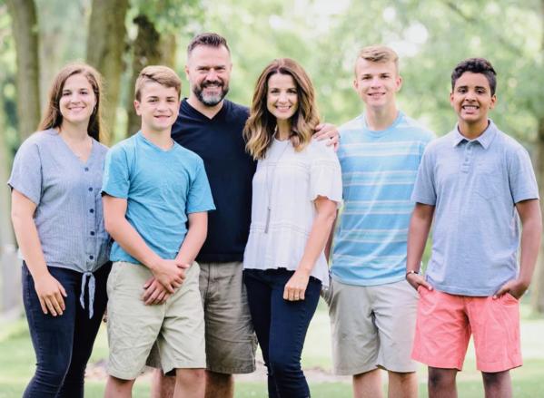 Dave Dummitt family