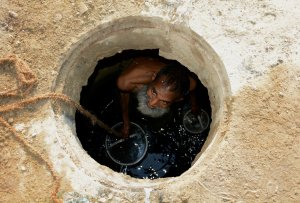 Pakistan sewer cleaners