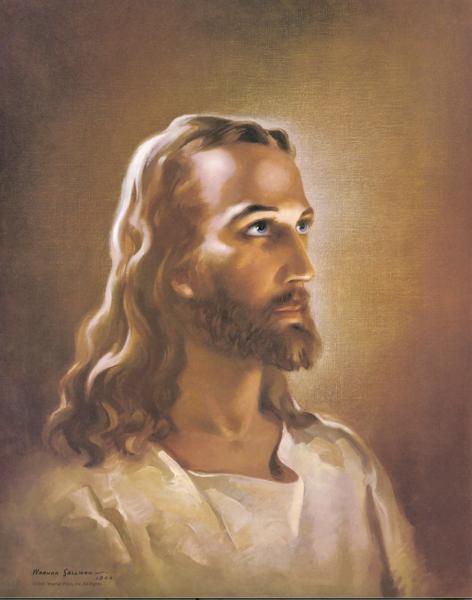 Warner Sallman - Head of Christ