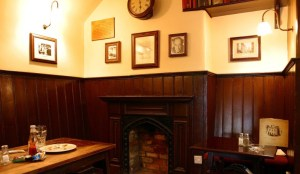 Eagle and Child interior