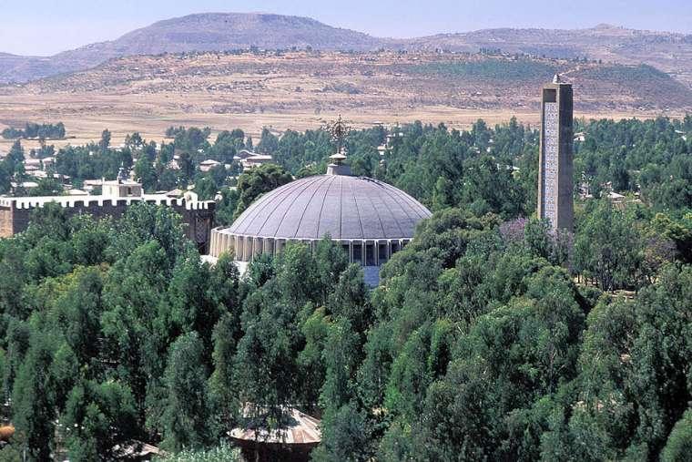 Church Our Lady Mary Zion Axum Ethiopia