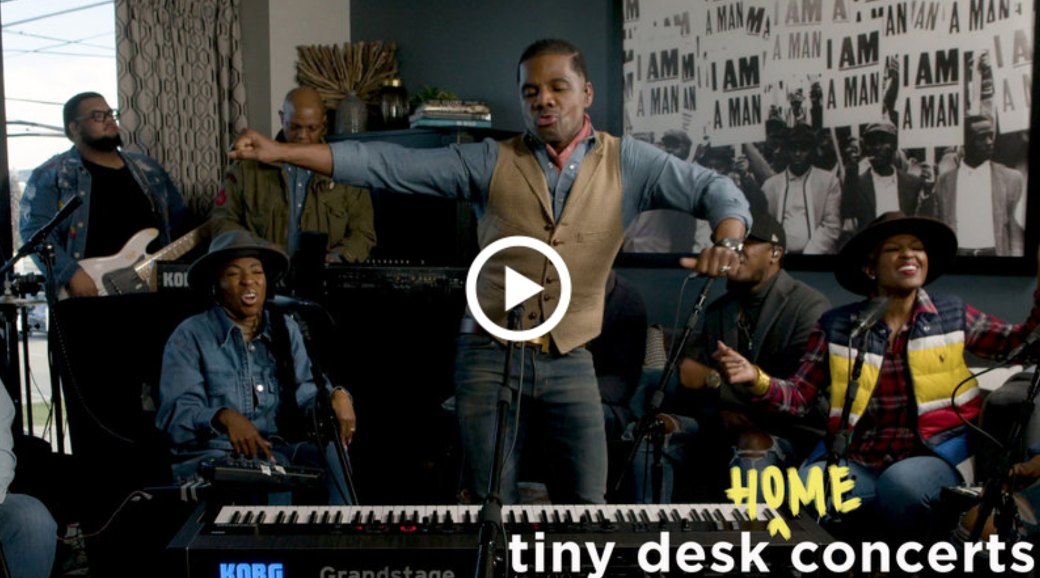Kirk Franklin Tiny Desk Concert