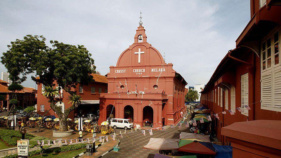 Christ Church Melaka Malaysia